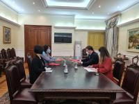 Navigate to Minister Selakovic met with Ambassador Chen Bo