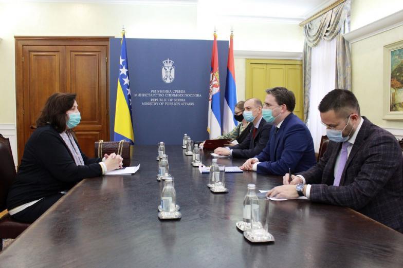Селаковић: Србија посебну пажњу придаје односима са БиХ