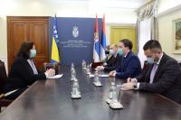Navigate to Селаковић: Србија посебну пажњу придаје односима са БиХ