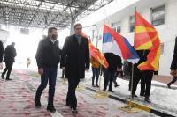 Navigate to Председник Вучић уручио вакцине Северној Македонији