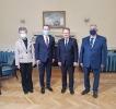 Селаковић са руководством Дунавске комисије у Будимпешти [18.12.2020.]