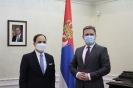 Селаковић примио у опроштајну посету амбасадора Турске [26.01.2021.]