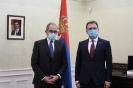 Министар Селаковић примио у опроштајну посету амбасадора Аргентине [08.01.2021.]