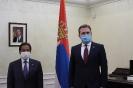 Министар Селаковић са амбасадором Катара о унапређењу билатералних односа [08.01.2021.]