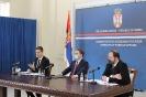 Завршни састанак са Марком Ђурићем, који одлази на дужност изванредног и опуномоћеног амбасадора Србије у САД [19.11.2020.]